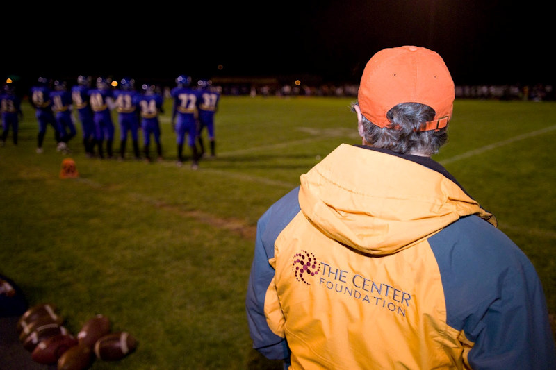The Center Foundation has been providing free medical care on the field of play for student athletes
