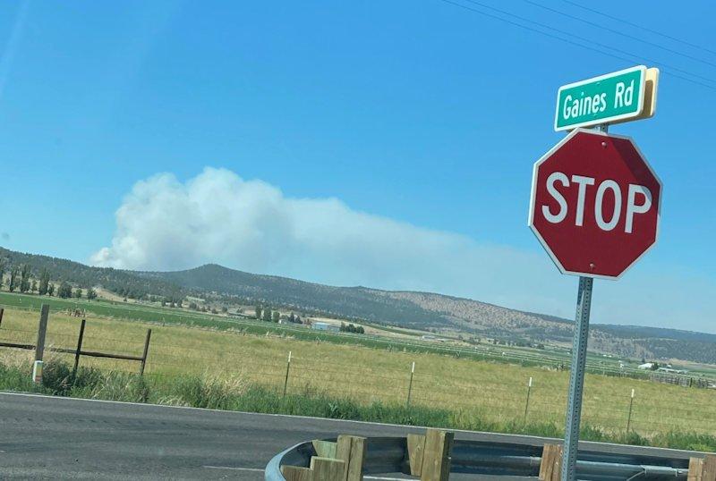 Cutoff Fire from Hwy 50 USFS 619