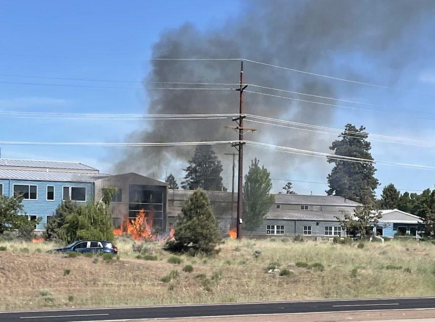Fire near Bend Parkway Kolette Schneyder 61