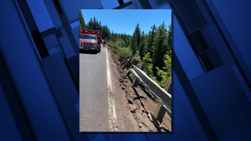 Truck driver died in crash through guardrail on state Highway 58 Sunday afternoon