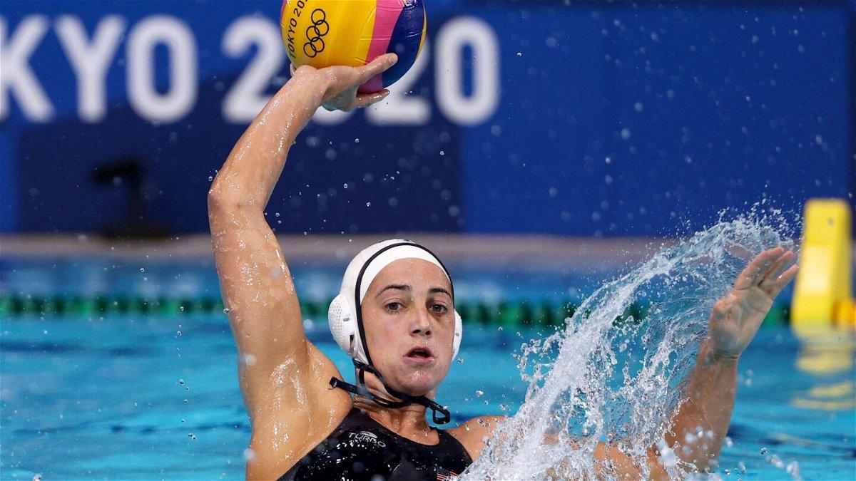 Team USA's Maggie Steffens