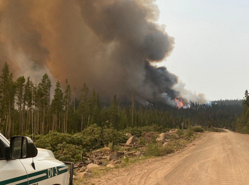 Firing operations Friday to help contain the Bootleg Fire