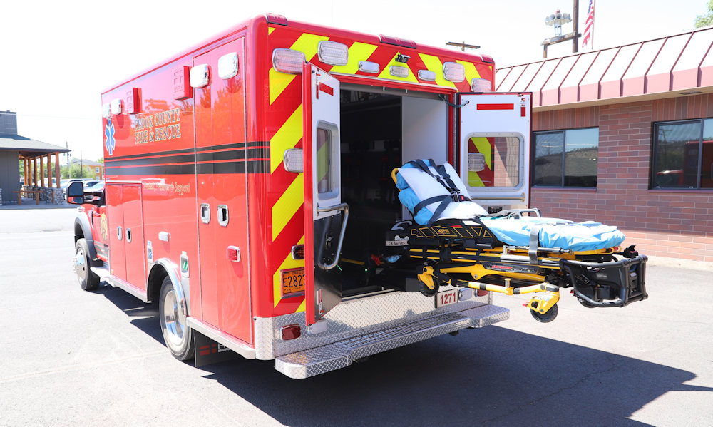 Crook County Fire & Rescue has received the first of two new ambulances for its fleet