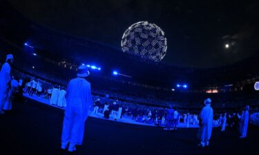Drones during Opening Ceremony