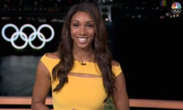 Maria Taylor on NBC's coverage of the Tokyo Olympic Opening Ceremony