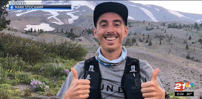 Bend resident Mark Stockamp is doing a 100-mile run to raise funds for the Cerebral Palsy Foundation