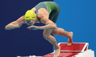 Australia's Emma McKeon at the 2020 Tokyo Olympics