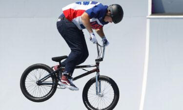 Hannah Roberts wins silver with huge BMX freestyle run