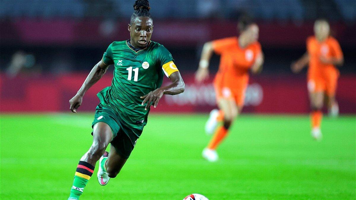 Barbra Banda scores historic hat trick for Zambia