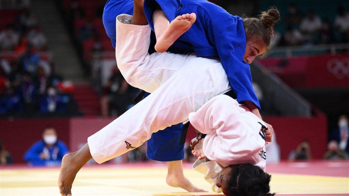 Nora Gjakova of Kosovo wins first judo gold medal