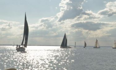 For over 50 years the Bay City Yacht Club has held a racing league every Wednesday night in the summer.