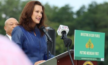 Gov. Gretchen Whitmer announced plans to create a new state park in Flint using federal funds from President Joe Biden's American Recovery Plan.