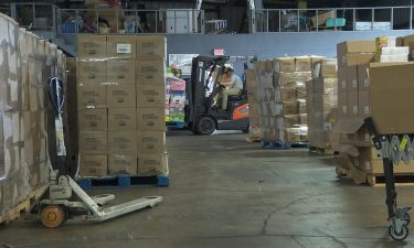 The Harvest Regional Food Bank in Texarkana is still just as busy as ever addressing hunger issues in the community.