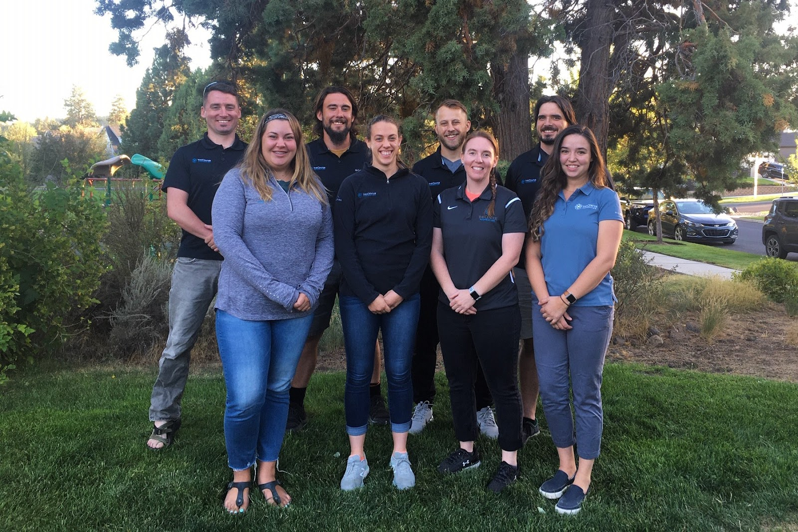 Athletic trainers with The Center Foundation