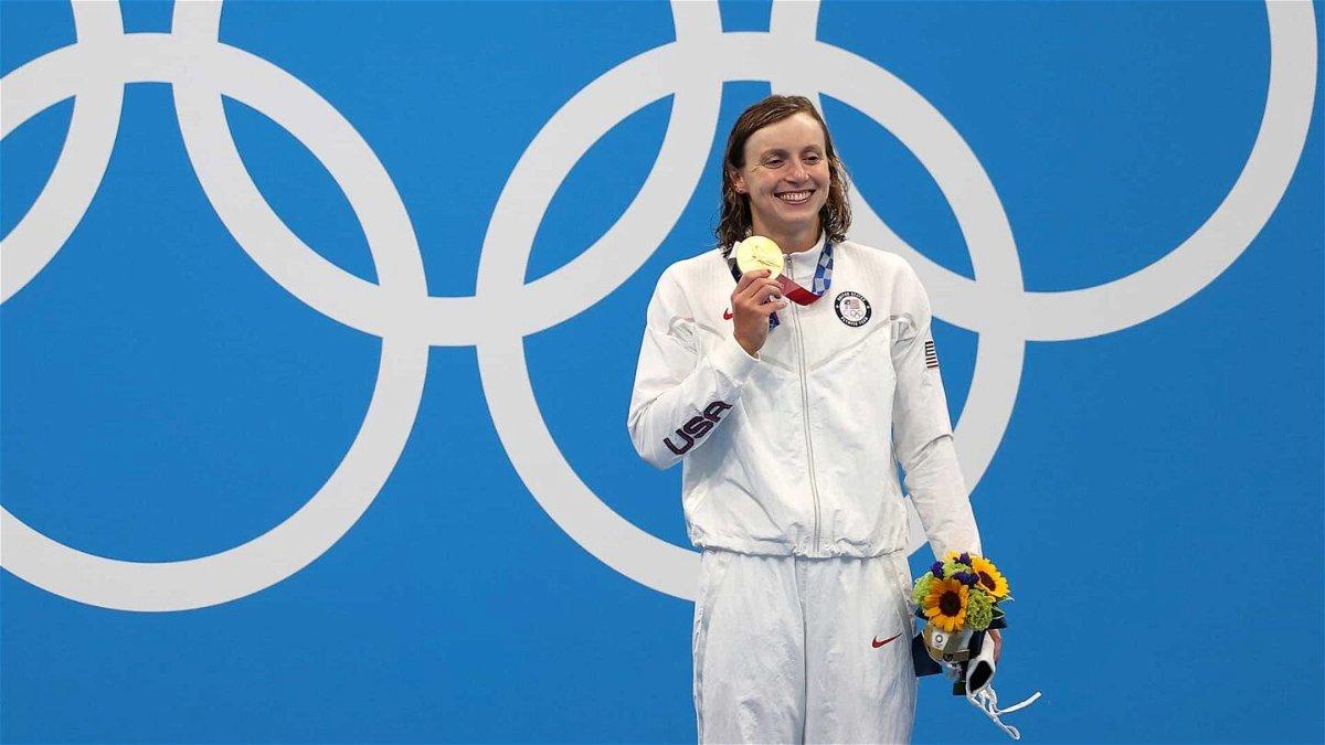 Katie Ledecky Swimming USA