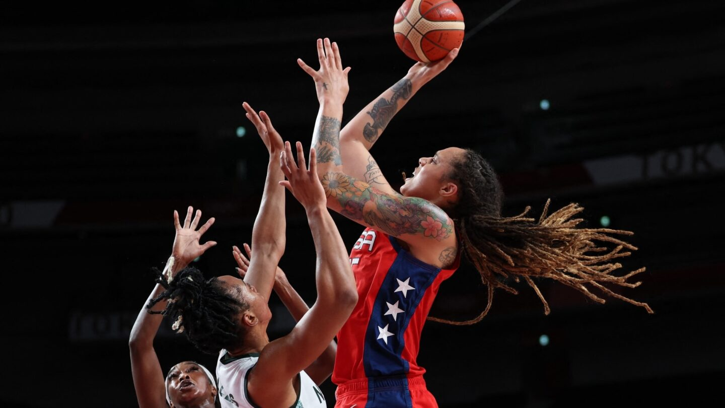 Team USA's Brittney Griner helped drive a comeback win over Nigeria
