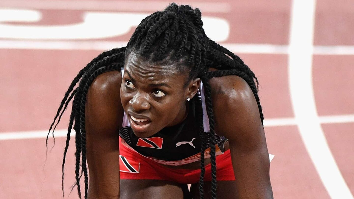 Sparkle Ann McKnight Trinidad and Tobago Track and Field