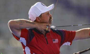 Brady Ellison takes aim