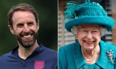 Queen Elizabeth II sent a message of support to England national football team manager Gareth Southgate on Saturday