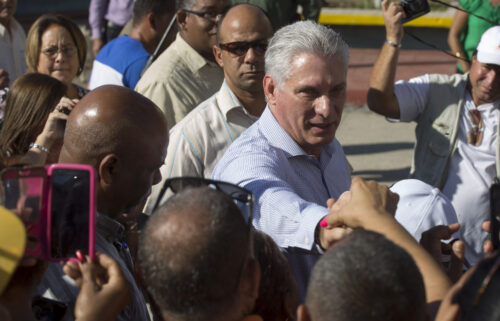 Cuba's President Miguel Diaz-Canel has blamed the US government for unprecedented protests across the island.
