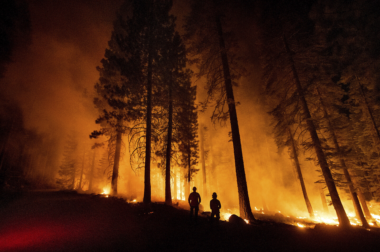 <i>Noah Berger/AP</i><br/>President Joe Biden and Vice President Kamala Harris will meet with seven governors on July 30 to talk about how states are responding to a devastating Western wildfire season -- and how the federal government can assist.