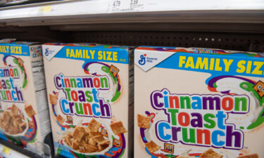 Shrinkflation is the reason why boxes of cereal like Cinnamon Toast Crunch are shrinking.