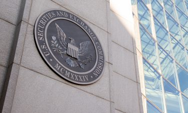 The Securities and Exchange Commission charged three people Friday with insider trading in advance of the announcement that sent Long Island Iced Tea Corp.'s here stock price to the moon. The headquarters of the US Securities and Exchange Commission (SEC) is shown in Washington
