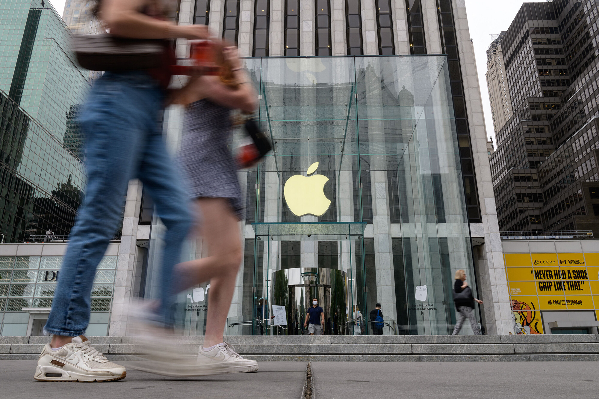 <i>Angela Weiss/AFP/Getty Images</i><br/>Apple on July 27 announced a massive earnings beat for the three months ended June 26