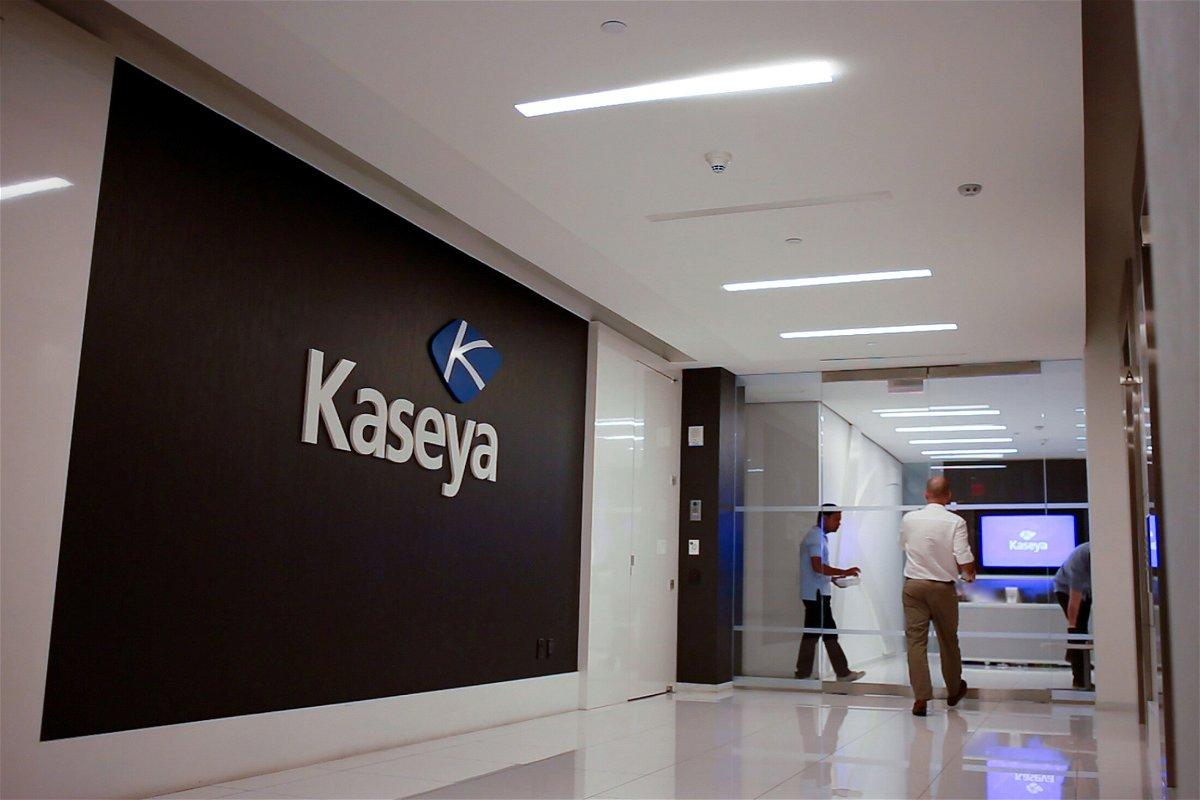 <i>Kaseya via Reuters</i><br/>Kaseya