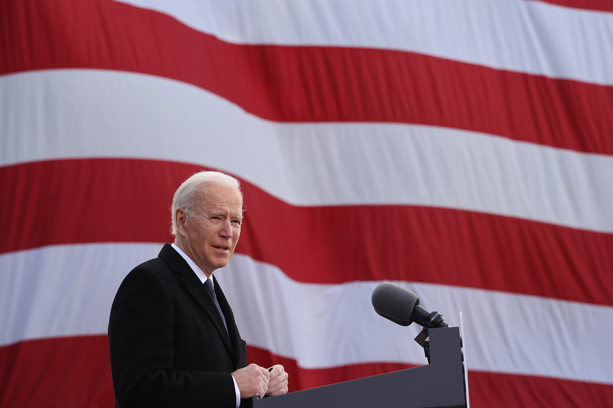 <i>Chip Somodevilla/Getty Images North America/Getty Images</i><br/>President Joe Biden on Sunday will accept an award from the President of Kosovo on behalf of his son Beau Biden for his work helping to strengthen the war-torn country's justice system