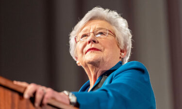 """Gov. Kay Ivey called out """"the unvaccinated folks"""" for the rise in Covid-19 cases in her state."""