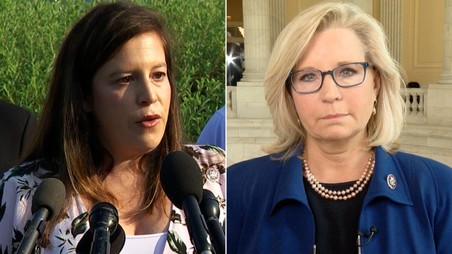 <i>CNN</i><br/>Rep. Elise Stefanik of New York and Rep. Liz Cheney of Wyoming are viewed differently within the Republican Party.