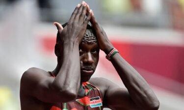 Kenyan Emmanuel Korir DQs with false start in 400m prelims