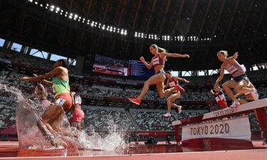 Coburn comfortably secures spot in steeplechase final