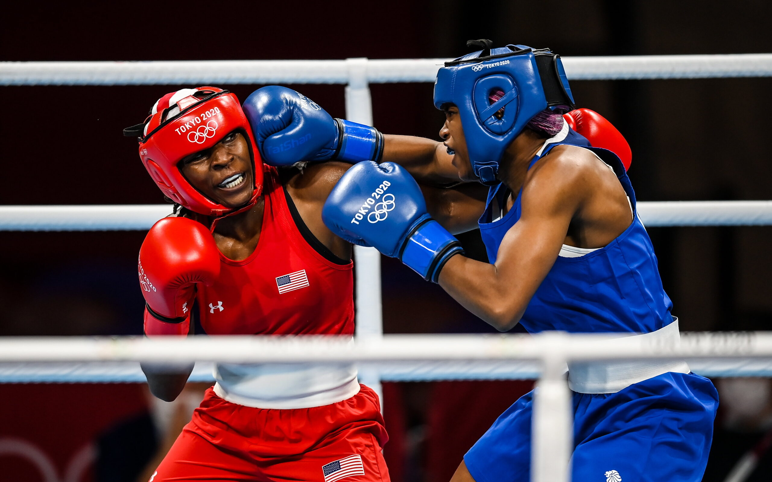 USA's Ellis falls to GBR's Dubois in Round of 16 boxing