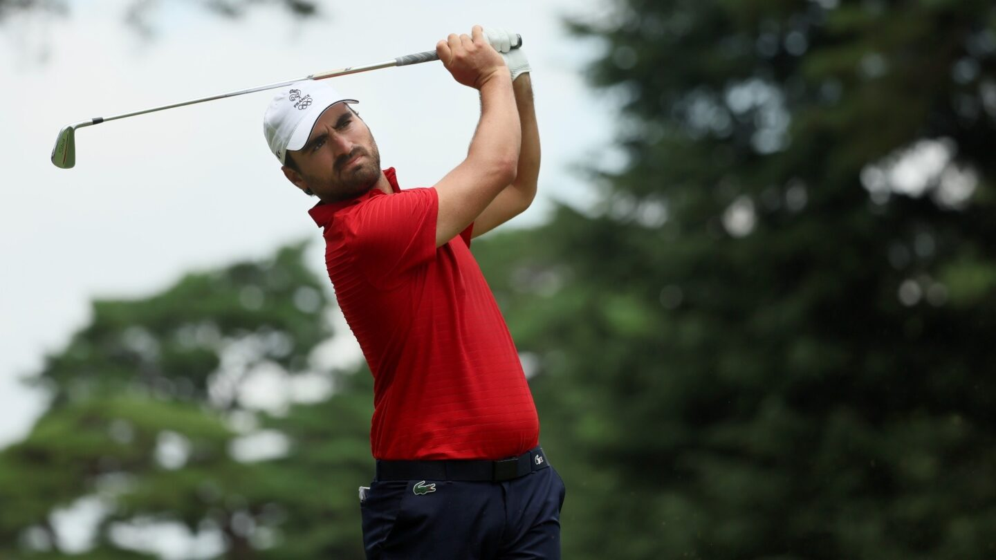 Frenchman finishes long eagle putt