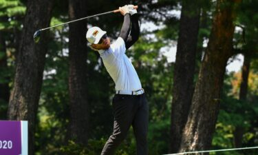Scott Vincent's near ace in Olympic golf's final round