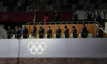 Moment of silence observed at 2020 Opening Ceremony
