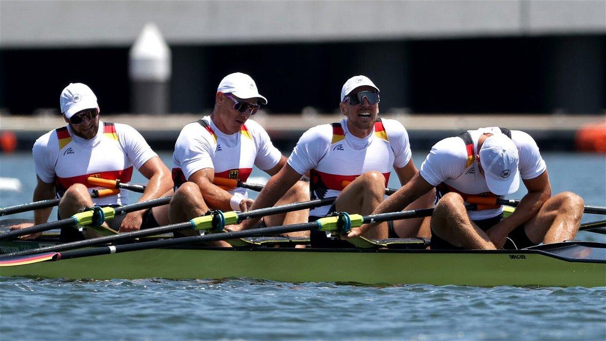 Recap: Men's quadruple heats; Netherlands