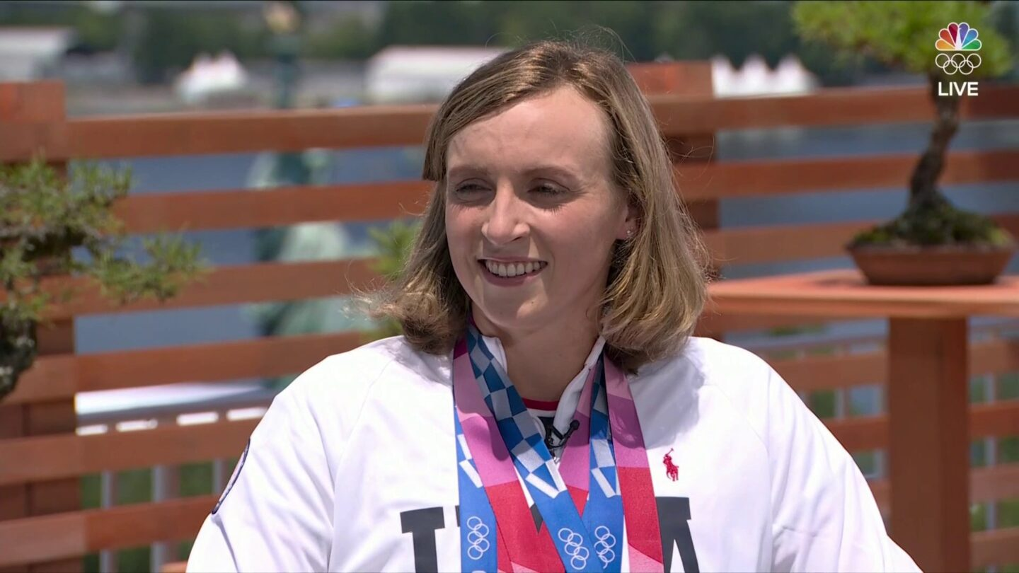 Katie Ledecky reflects on her four medals at the Tokyo Games