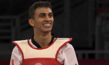 Italy's Vito Dell'Aquila captures first taekwondo gold medal