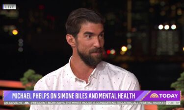 Phelps hopes mental health dialogue continues to grow