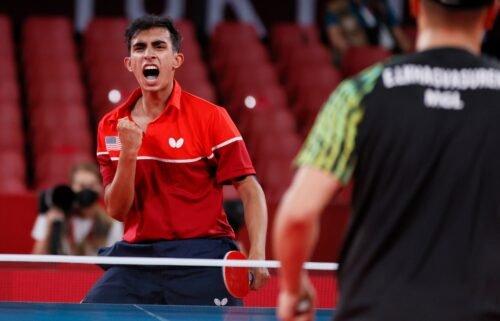 USA's Kumar tops Enkhbat in opening round of men's singles