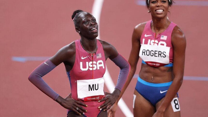 Athing Mu, 19, ends half-century US drought with women's 800m gold - KTVZ
