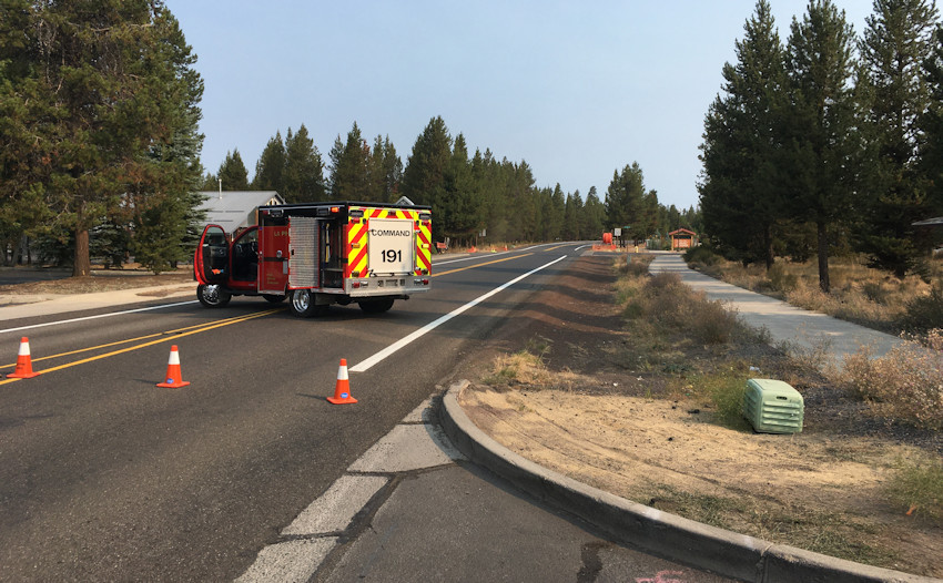 Broadband contractor struck natural gas line in La Pine; leak prompted evacuations