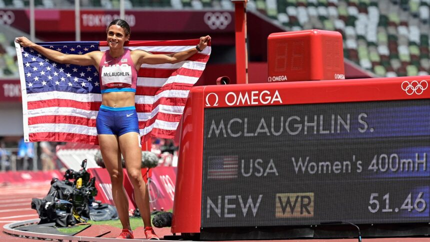 McLaughlin defeats Muhammad, shatters own 400m hurdles WR for Olympic gold - KTVZ