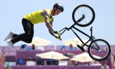 Logan Martin wins inaugural BMX freestyle event