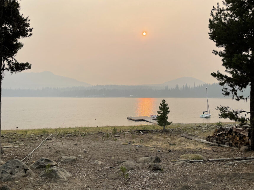 Smoky Elk Lake Ann Deuchler 83