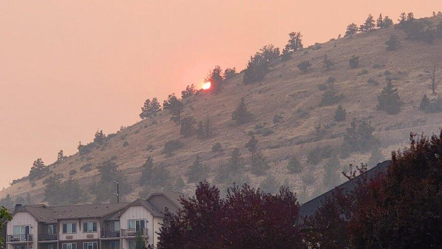 Smoky Pilot Butte sunset Robert Mozzetti 83