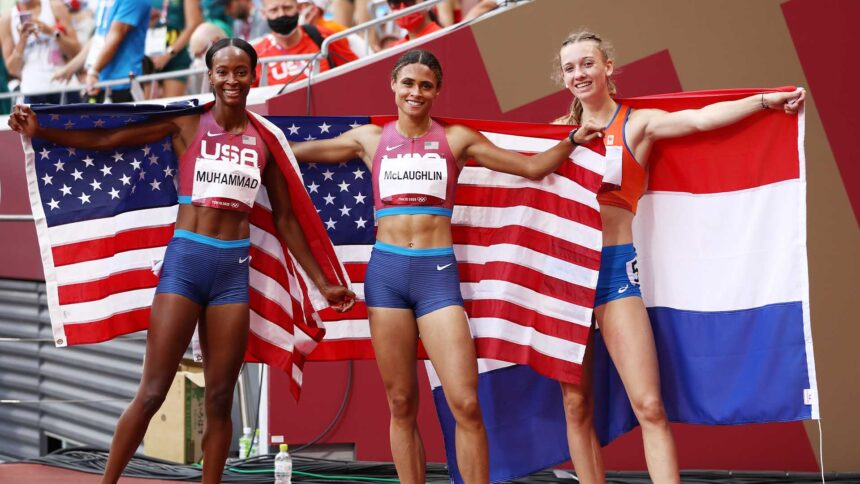 McLaughlin shatters own 400mH WR in 51.46 for Olympic gold - KTVZ